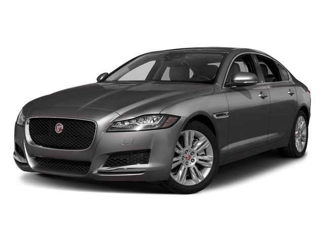 Corris Grey Metallic 2018 Jaguar XF Pictures XF Sedan 25t Premium AWD photos front view