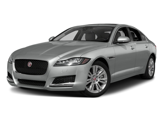 Indus Silver Metallic 2018 Jaguar XF Pictures XF Sedan 20d Premium RWD photos front view