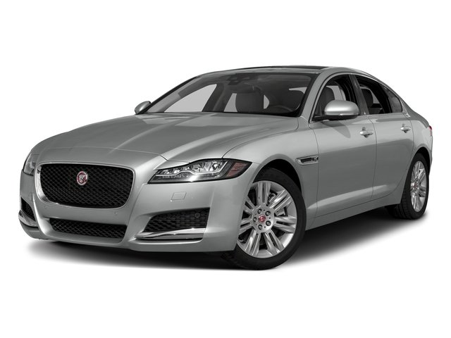 Indus Silver Metallic 2018 Jaguar XF Pictures XF Sedan 25t Premium AWD photos front view