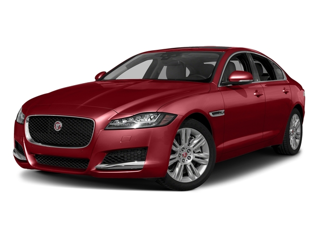 Firenze Red Metallic 2018 Jaguar XF Pictures XF Sedan 25t Premium AWD photos front view