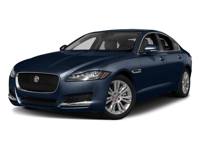 Loire Blue Metallic 2018 Jaguar XF Pictures XF Sedan 25t Premium AWD photos front view