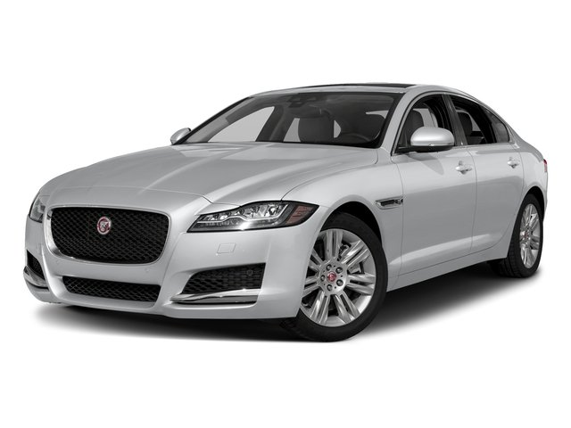 Yulong White Metallic 2018 Jaguar XF Pictures XF Sedan 25t Premium AWD photos front view