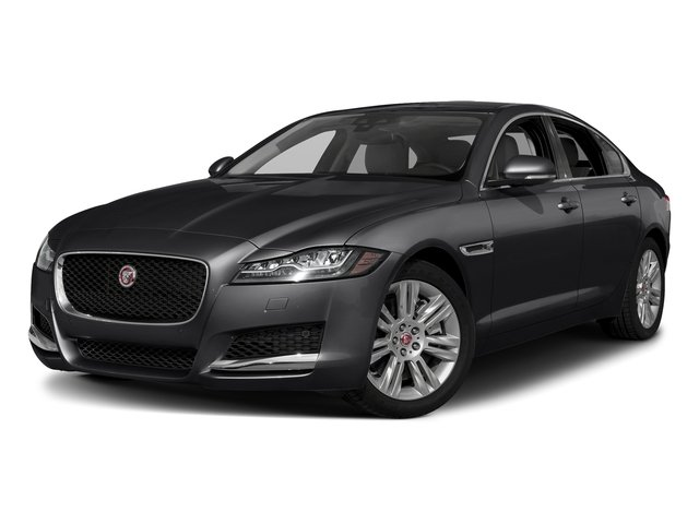 Narvik Black 2018 Jaguar XF Pictures XF Sedan 30t Premium RWD photos front view