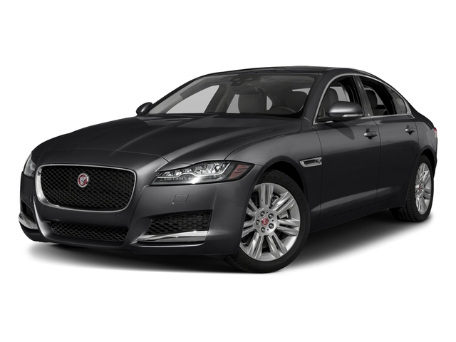Narvik Black 2018 Jaguar XF Pictures XF Sedan 25t Premium AWD photos front view