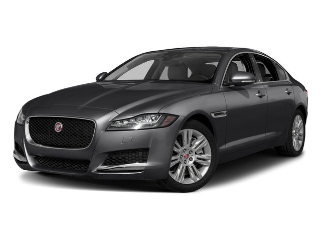 Carpathian Grey 2018 Jaguar XF Pictures XF Sedan 20d Premium AWD photos front view