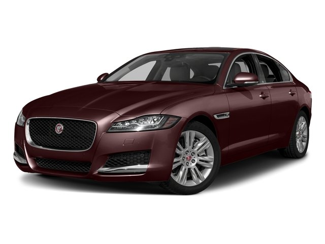 Rossello Red Metallic 2018 Jaguar XF Pictures XF Sedan 25t Premium AWD photos front view