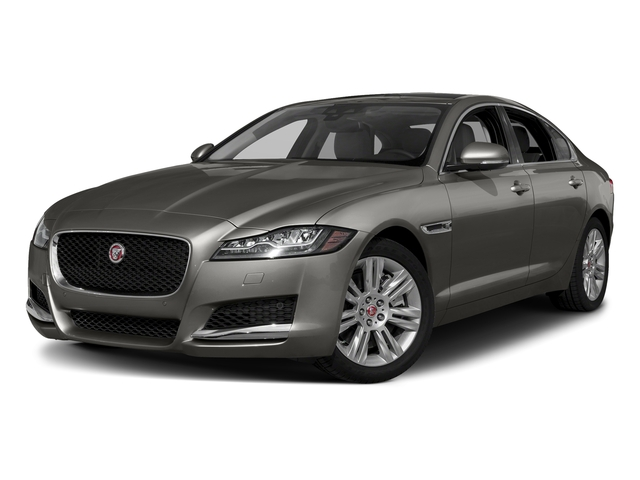 Silicon Silver 2018 Jaguar XF Pictures XF Sedan 30t Premium RWD photos front view