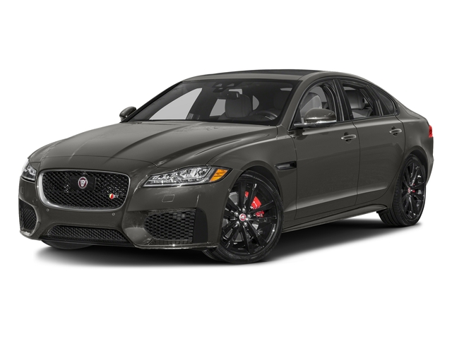Silicon Silver 2018 Jaguar XF Pictures XF Sedan S AWD photos front view