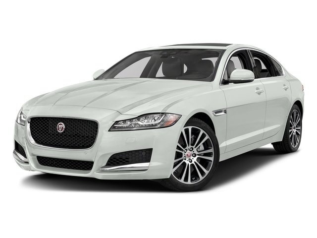 Fuji White 2018 Jaguar XF Pictures XF Sedan 30t Prestige RWD photos front view