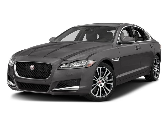 Corris Grey Metallic 2018 Jaguar XF Pictures XF Sedan 35t Prestige AWD *Ltd Avail* photos front view