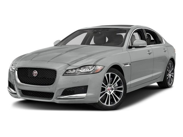 Indus Silver Metallic 2018 Jaguar XF Pictures XF Sedan 35t Prestige AWD *Ltd Avail* photos front view
