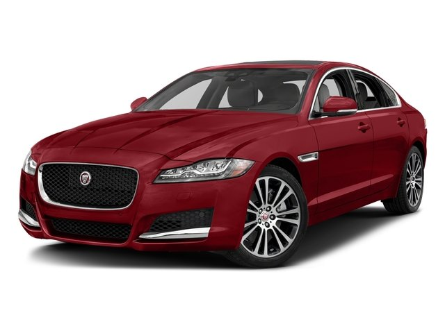 Firenze Red Metallic 2018 Jaguar XF Pictures XF Sedan 30t Prestige RWD photos front view