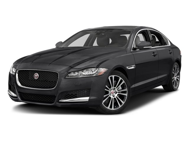 Narvik Black 2018 Jaguar XF Pictures XF Sedan 35t Prestige AWD *Ltd Avail* photos front view