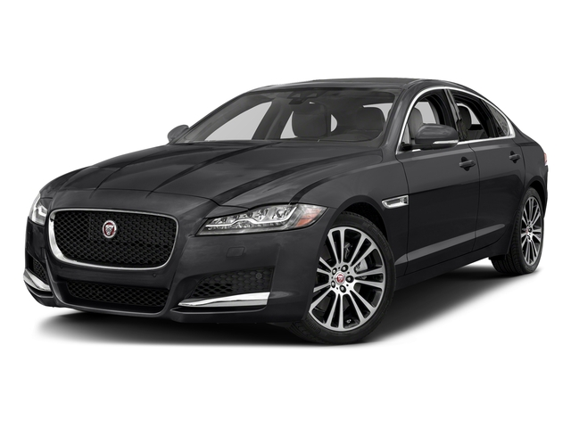 Narvik Black 2018 Jaguar XF Pictures XF Sedan 30t Prestige RWD photos front view