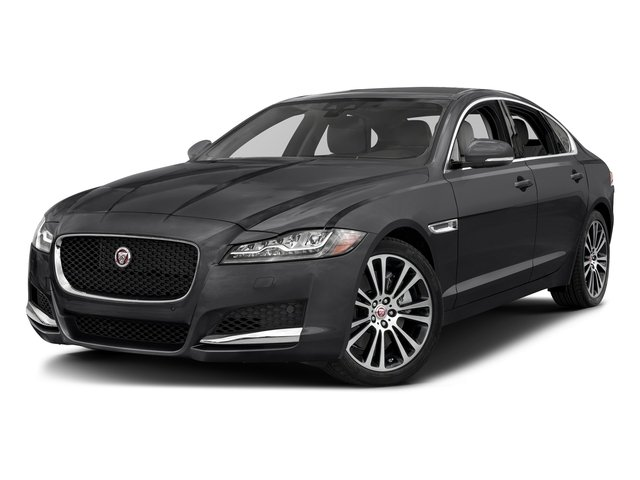 Carpathian Grey 2018 Jaguar XF Pictures XF Sedan 35t Prestige AWD *Ltd Avail* photos front view