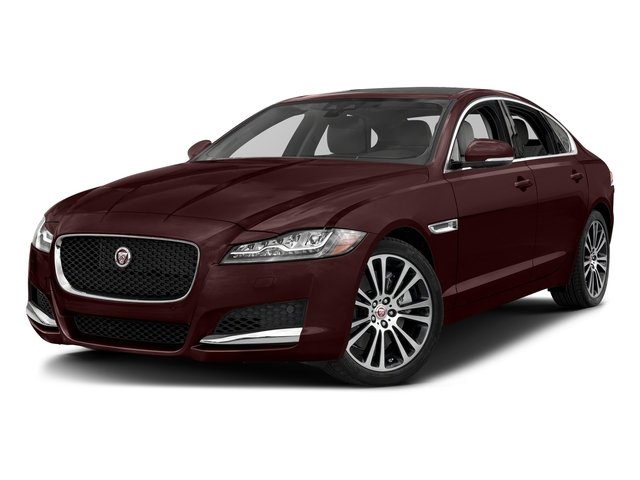 Rossello Red Metallic 2018 Jaguar XF Pictures XF Sedan 25t Prestige AWD photos front view