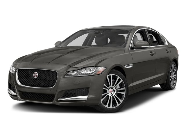 Silicon Silver 2018 Jaguar XF Pictures XF Sedan 25t Prestige RWD photos front view