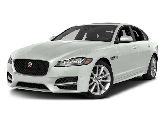 Fuji White 2018 Jaguar XF Pictures XF Sedan 25t R-Sport RWD photos front view