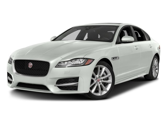 Fuji White 2018 Jaguar XF Pictures XF Sedan 25t R-Sport AWD photos front view