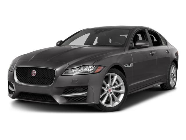Corris Grey Metallic 2018 Jaguar XF Pictures XF Sedan 35t R-Sport AWD *Ltd Avail* photos front view