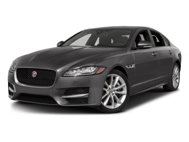 Corris Grey Metallic 2018 Jaguar XF Pictures XF Sedan 25t R-Sport AWD photos front view