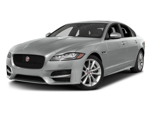 Indus Silver Metallic 2018 Jaguar XF Pictures XF Sedan 4D 20d R-Sport photos front view