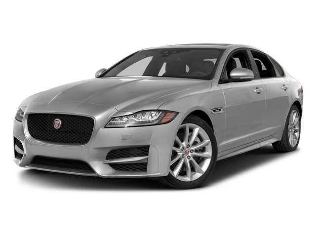 Indus Silver Metallic 2018 Jaguar XF Pictures XF Sedan 25t R-Sport RWD photos front view