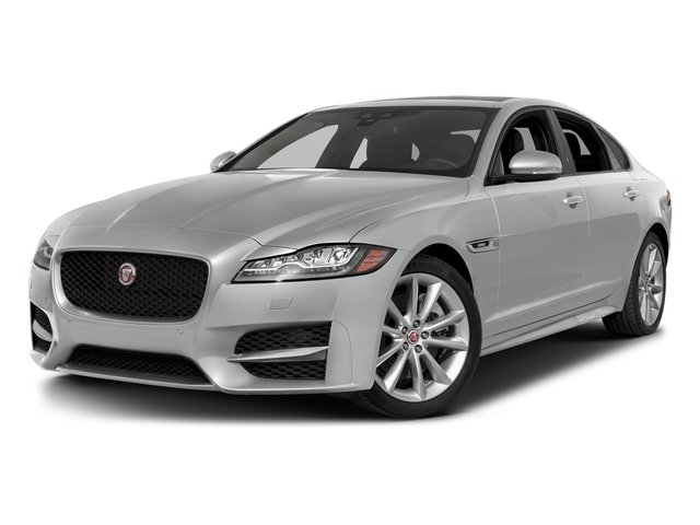 Yulong White Metallic 2018 Jaguar XF Pictures XF Sedan 35t R-Sport AWD *Ltd Avail* photos front view