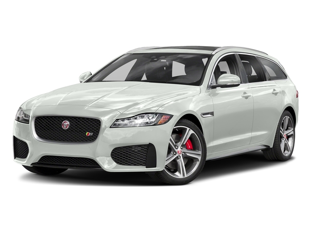 Fuji White 2018 Jaguar XF Pictures XF Sportbrake First Edition AWD photos front view