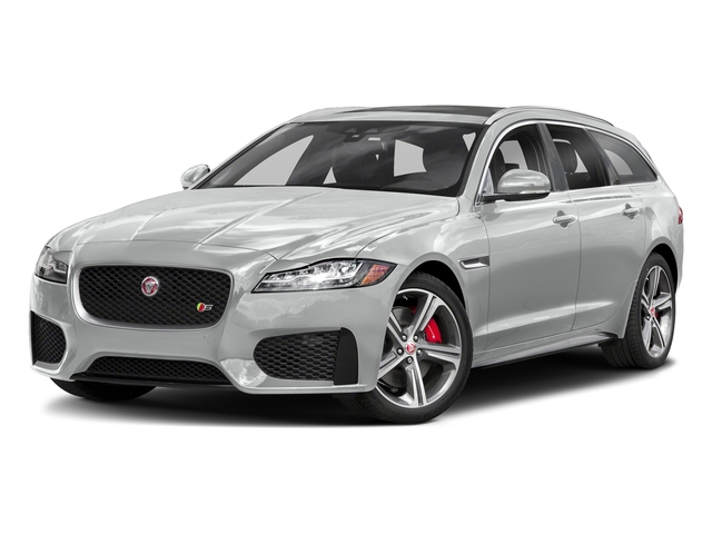 Indus Silver Metallic 2018 Jaguar XF Pictures XF Sportbrake First Edition AWD photos front view