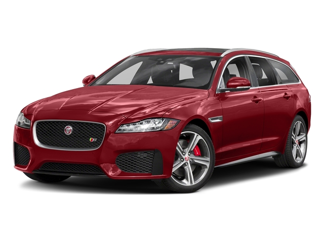 Firenze Red Metallic 2018 Jaguar XF Pictures XF Sportbrake First Edition AWD photos front view
