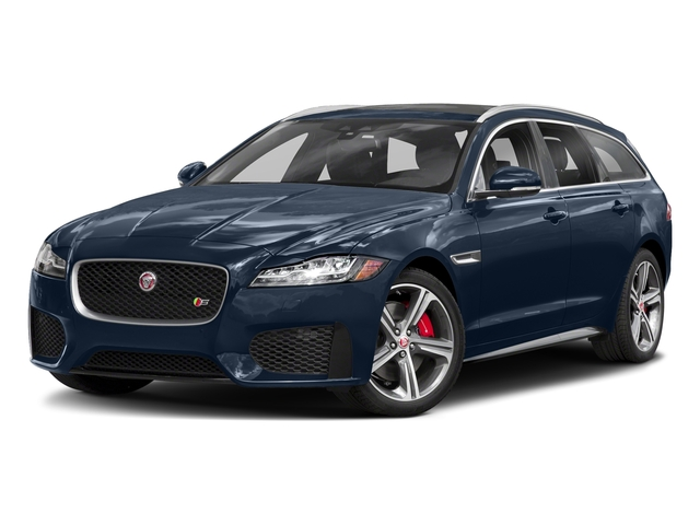 Loire Blue Metallic 2018 Jaguar XF Pictures XF Sportbrake First Edition AWD photos front view