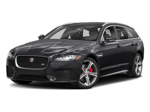 Narvik Black 2018 Jaguar XF Pictures XF Sportbrake First Edition AWD photos front view