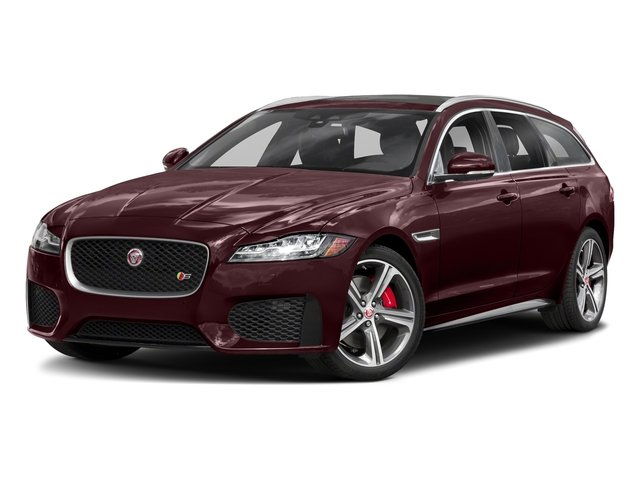 Rossello Red Metallic 2018 Jaguar XF Pictures XF Sportbrake First Edition AWD photos front view