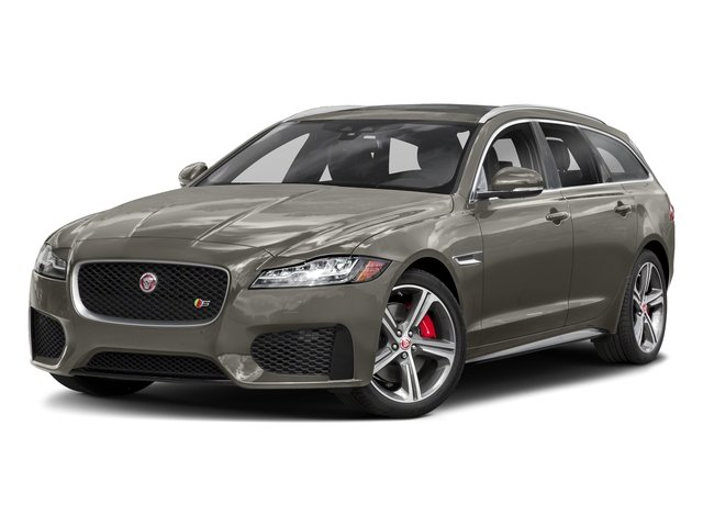 Silicon Silver 2018 Jaguar XF Pictures XF Sportbrake First Edition AWD photos front view