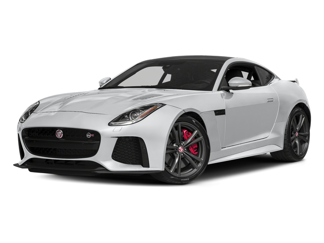 Yulong White Metallic 2018 Jaguar F-TYPE Pictures F-TYPE Coupe Auto SVR AWD photos front view