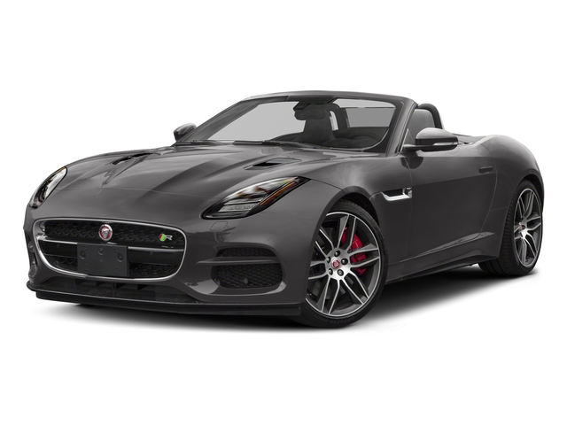 Corris Grey Metallic 2018 Jaguar F-TYPE Pictures F-TYPE Convertible Auto 380HP AWD photos front view