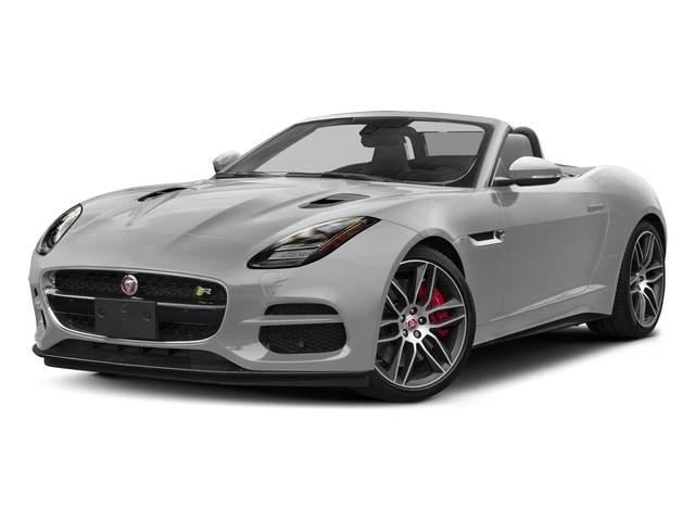 Indus Silver Metallic 2018 Jaguar F-TYPE Pictures F-TYPE Convertible Auto 380HP AWD photos front view