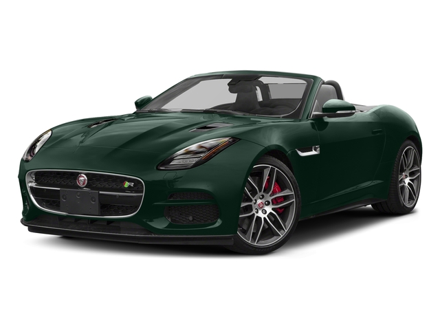 British Racing Green Metallic 2018 Jaguar F-TYPE Pictures F-TYPE Convertible Auto 380HP AWD photos front view
