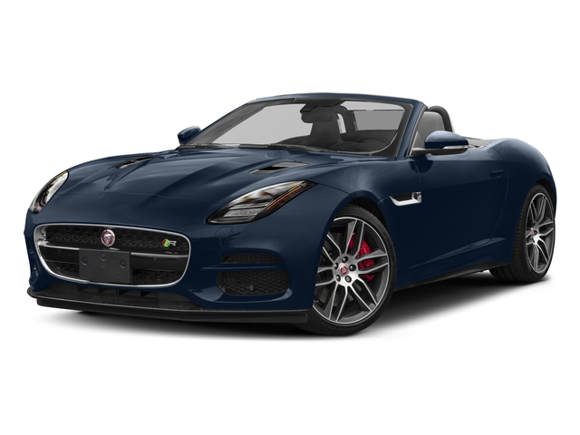 Loire Blue Metallic 2018 Jaguar F-TYPE Pictures F-TYPE Convertible Auto 380HP AWD photos front view