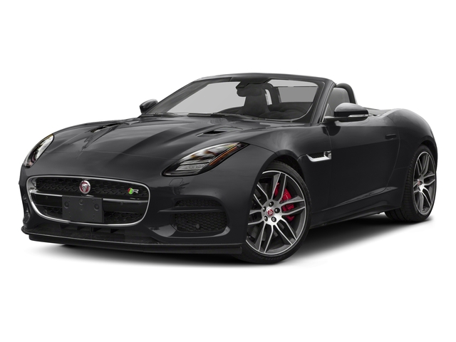 Narvik Black 2018 Jaguar F-TYPE Pictures F-TYPE Convertible Auto 380HP AWD photos front view