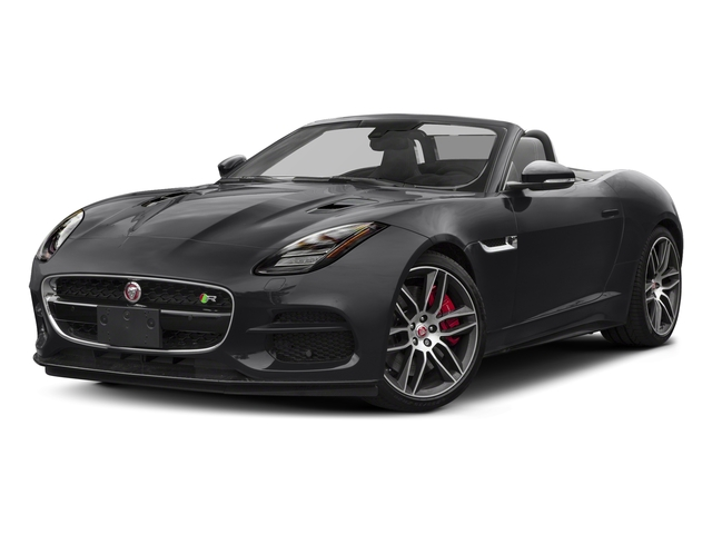 Carpathian Grey 2018 Jaguar F-TYPE Pictures F-TYPE Convertible Auto 380HP AWD photos front view