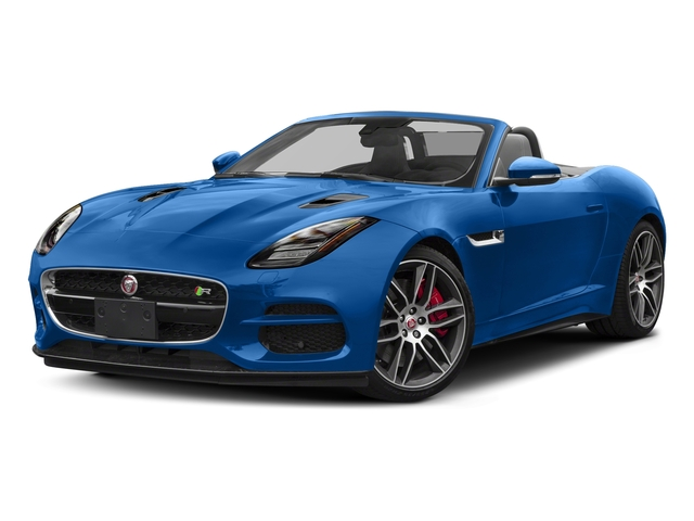 Ultra Blue Metallic 2018 Jaguar F-TYPE Pictures F-TYPE Convertible Auto 380HP AWD photos front view