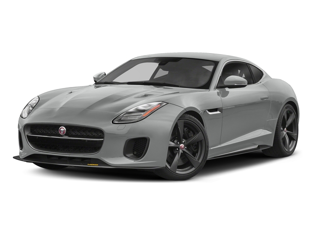 Indus Silver Metallic 2018 Jaguar F-TYPE Pictures F-TYPE Coupe Auto 400 Sport photos front view