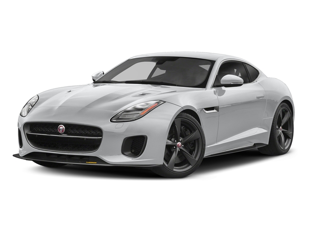 Yulong White Metallic 2018 Jaguar F-TYPE Pictures F-TYPE Coupe Auto 400 Sport photos front view