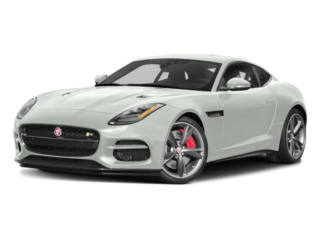 Fuji White 2018 Jaguar F-TYPE Pictures F-TYPE Coupe Auto R-Dynamic AWD photos front view