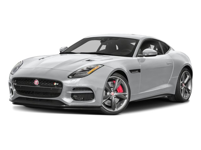 Yulong White Metallic 2018 Jaguar F-TYPE Pictures F-TYPE Coupe Auto R-Dynamic AWD photos front view