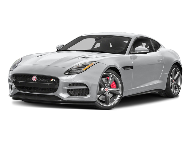 Yulong White Metallic 2018 Jaguar F-TYPE Pictures F-TYPE Coupe Auto 340HP photos front view
