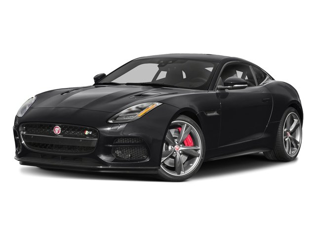Narvik Black 2018 Jaguar F-TYPE Pictures F-TYPE Coupe Auto R-Dynamic AWD photos front view