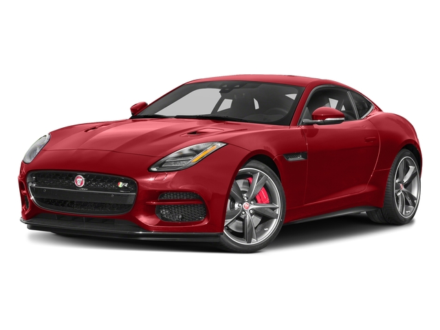 Caldera Red 2018 Jaguar F-TYPE Pictures F-TYPE Coupe Auto R-Dynamic AWD photos front view